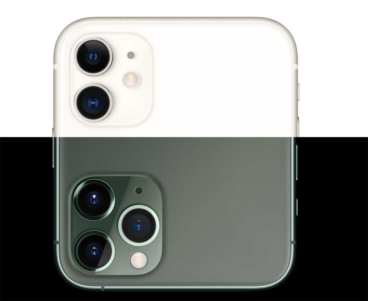 sao sanh iphone 11 va iphone 11 pro