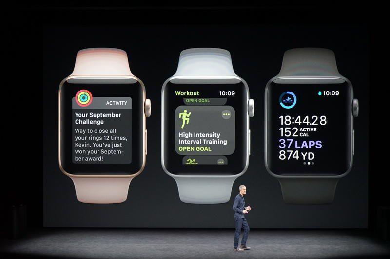 tính năng apple watch series 3