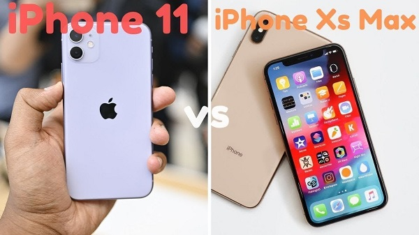 so sanh iphone 11 va iphone xs max