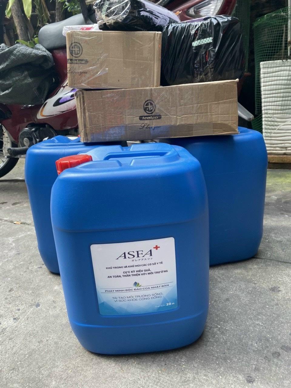 Nước ASFA Khử Khuẩn Dung Tích 20Lít