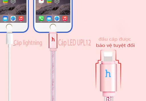 Cáp led UPL12 120cm HOCO có đèn báo hiệu-LIGHTNING