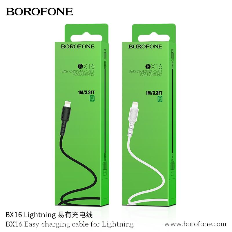 Cáp sạc BOROFONE BX16 Lightning