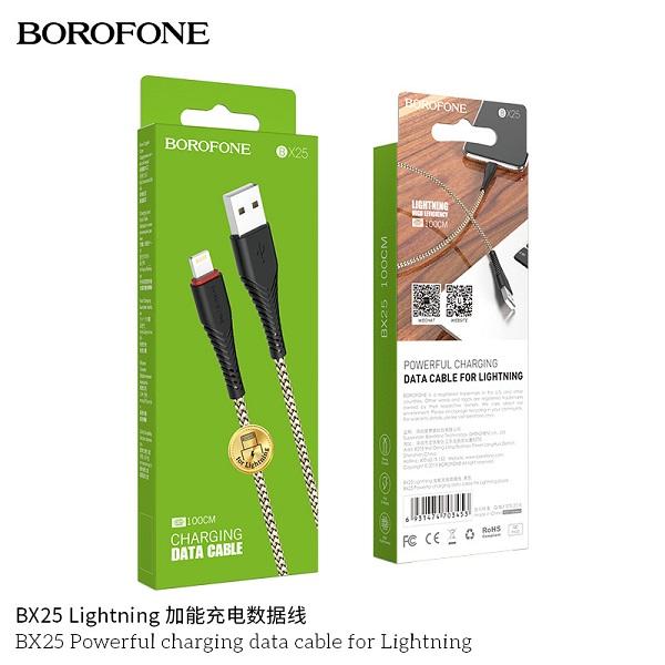 Cáp sạc BOROFONE BX25 Lightning