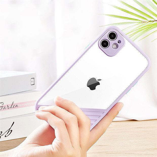 ỐP SỌC VUÔNG CẠNH iPHONE GIẢ iPHONE 12