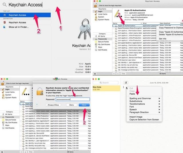 cách xem mật khẩu wifi trên macbook