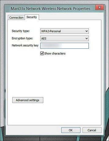 cách xem mật khẩu wifi trên win 7