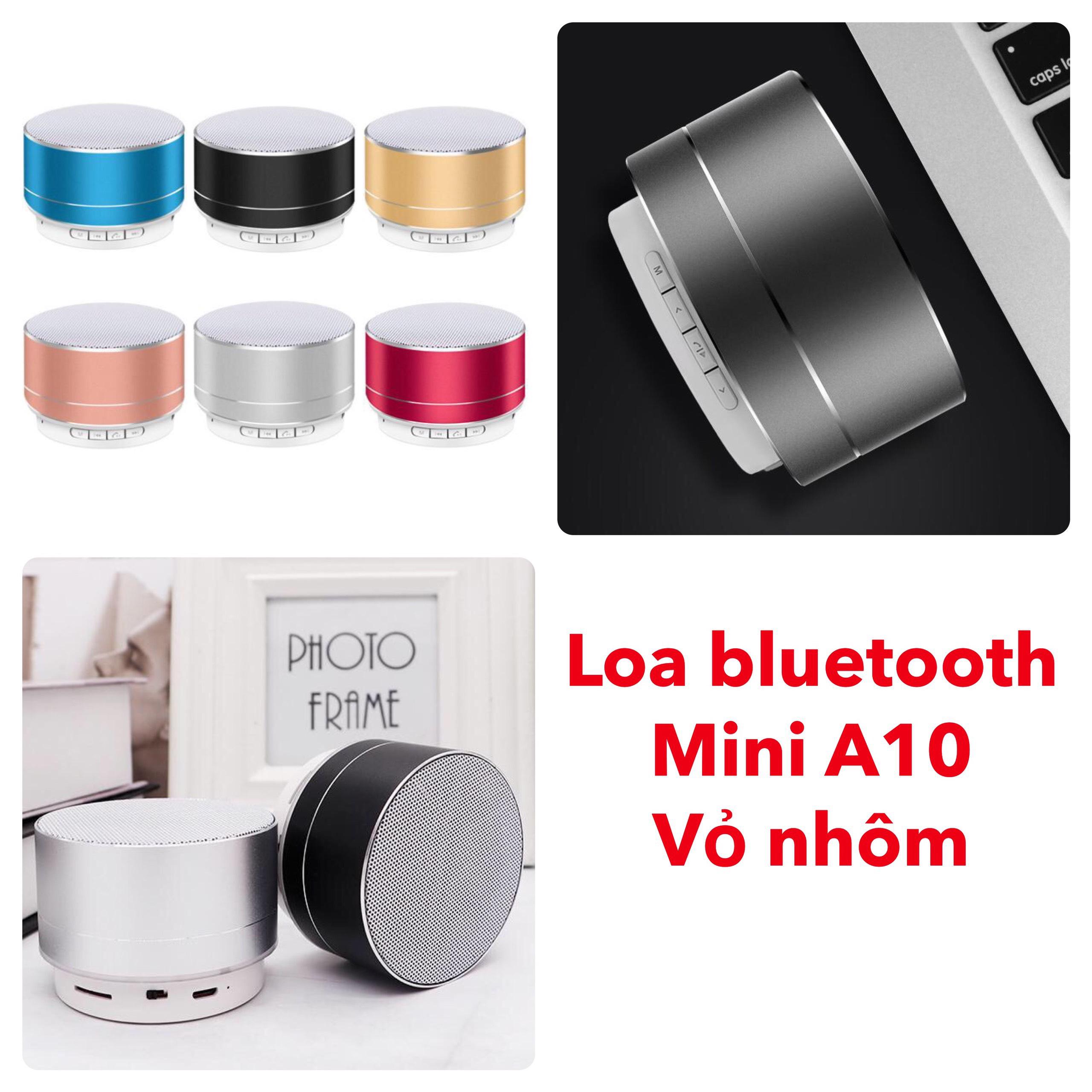 Loa Bluetooth Mini A10 vỏ nhôm