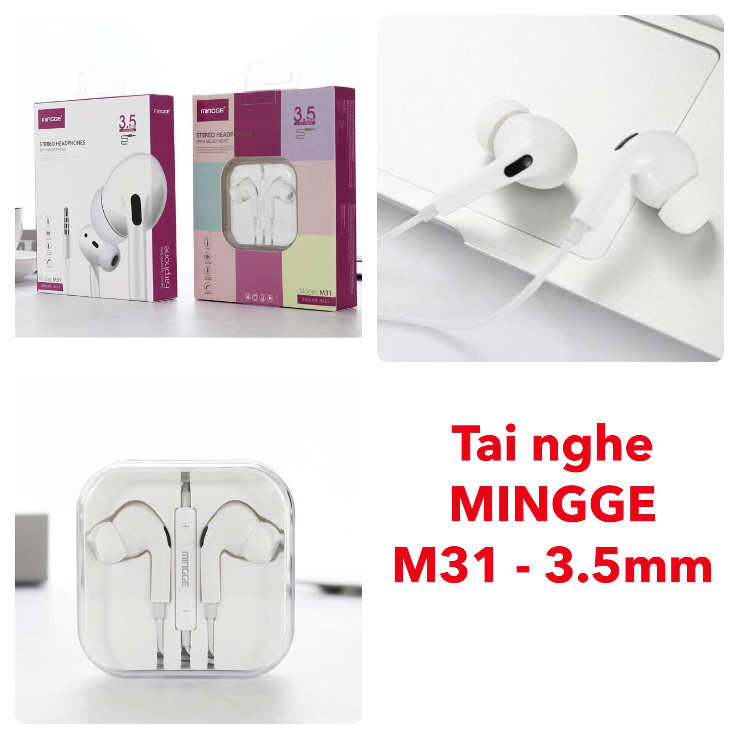 TAI NGHE MINGGE M31 – 3.5mm