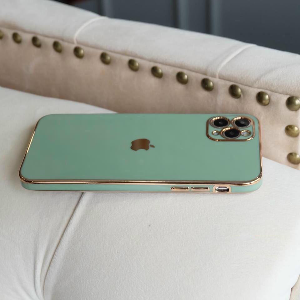 ỐP VIỀN MẠ CROM ĐỘ IPHONE 12