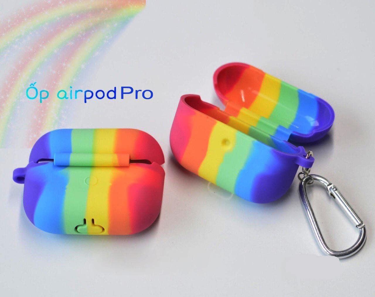 Túi Airpods Cầu Vồng cho 1.2 và Pro
