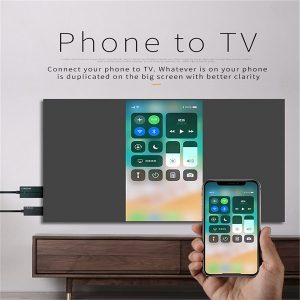cách kết nối iphone với tivi