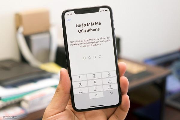 cách mở khoá iphone quên mật khẩu
