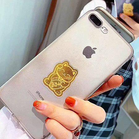 Miếng Mèo Vàng Thần Tài Lộc