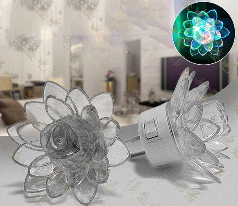 Đèn LED Pha Lê Hình Bông Sen