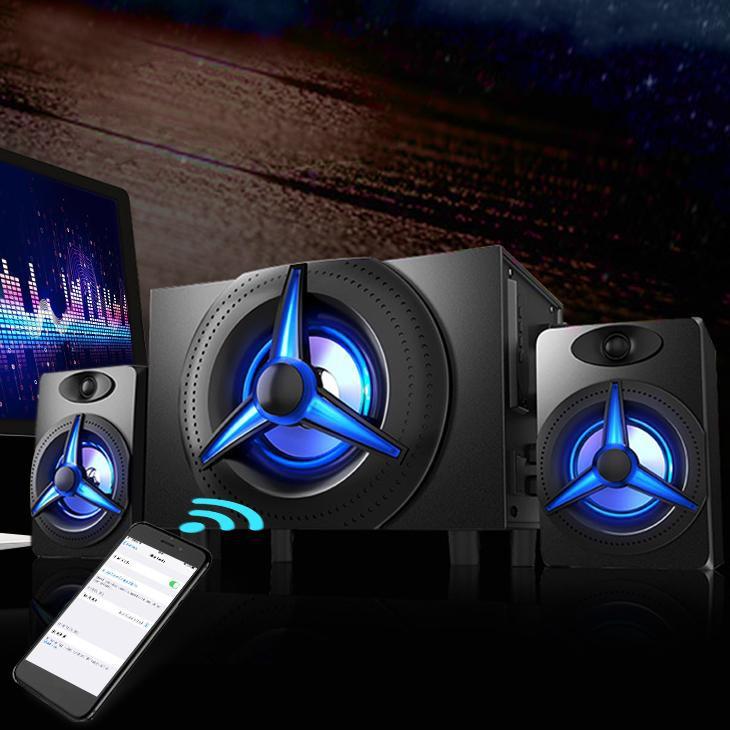 Loa 2.1 Kisonli TM-7000A Bluetooth