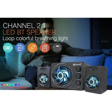 Loa 2.1 Kisonli TM-8000A Bluetooth