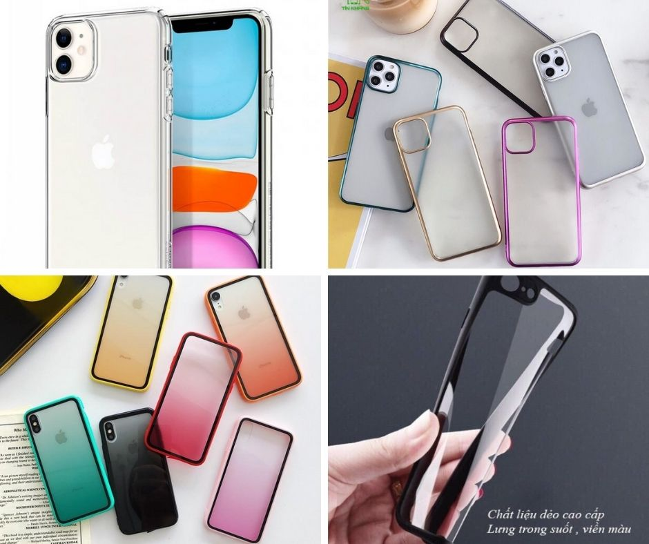 ốp lưng iphone 11 trong suốt