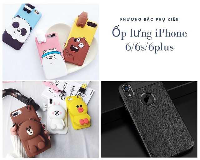 Ốp lưng iPhone 6/6s/6plus giá sỉ