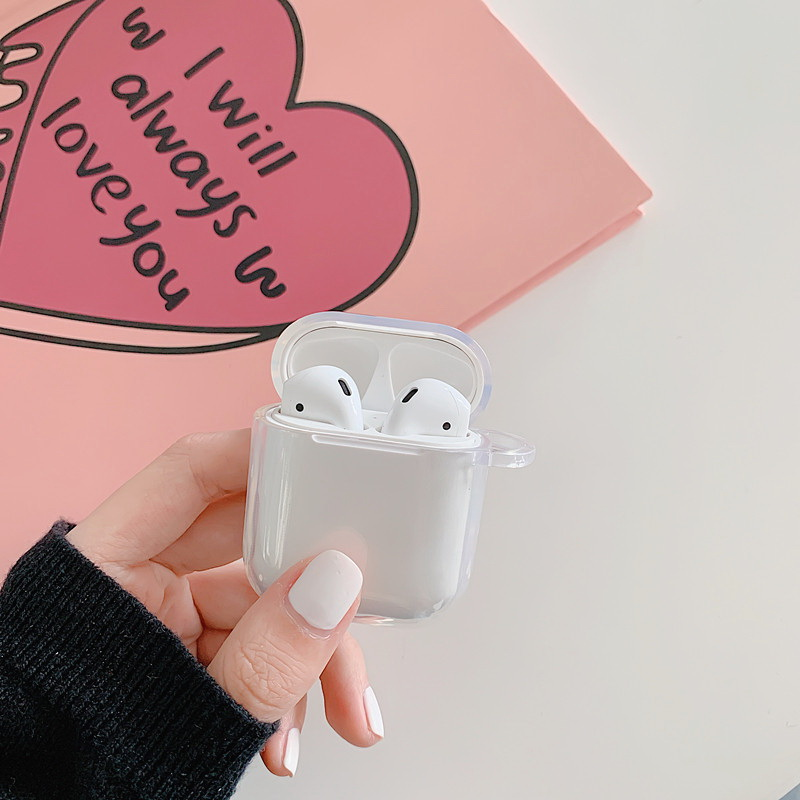 TÚI AIRPODS 1/2 TRONG SUỐT