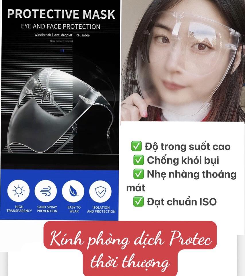 Kính phòng dịch Protec Mask thời thượng