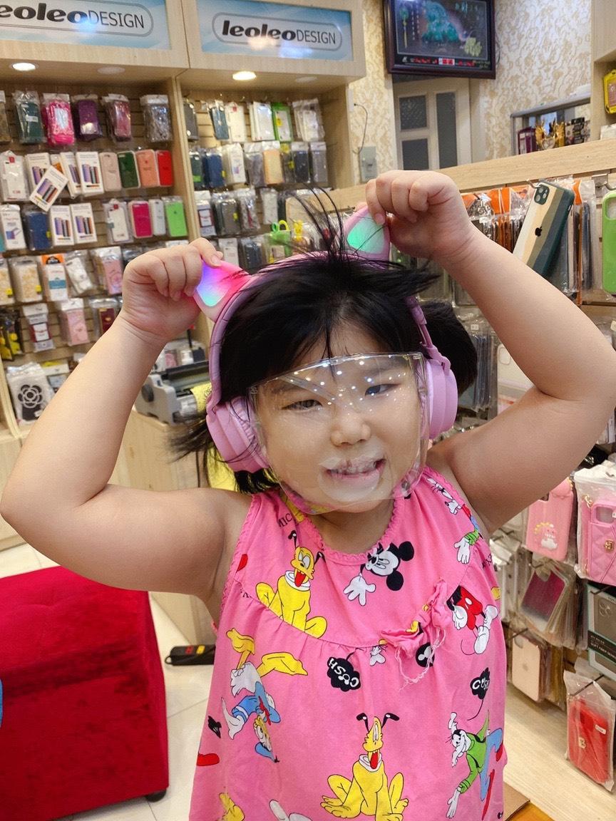 Kính Phòng Dịch Trẻ em FACE SHIELD