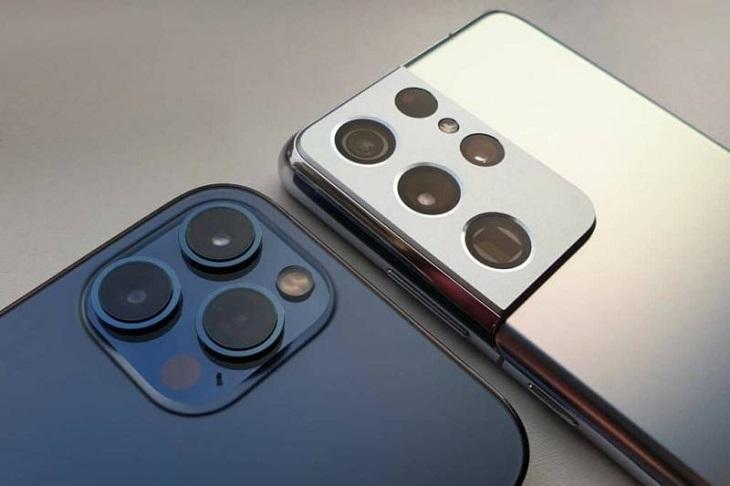 So sánh Samsung Galaxy S21 và iPhone 12 Pro Max - Đối thủ đẳng cấp   Phương Bắc phụ kiện