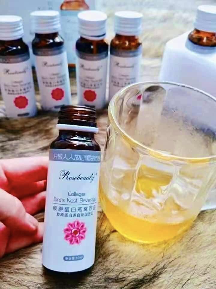 RoseBeauty COLLAGEN Bird's Nest Beverage (Collagen Yến – căng da – trắng hồng tá»± nhiên)